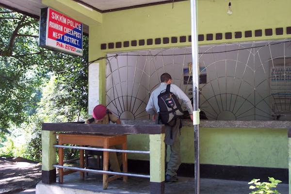 Puesto de control de Sikkim