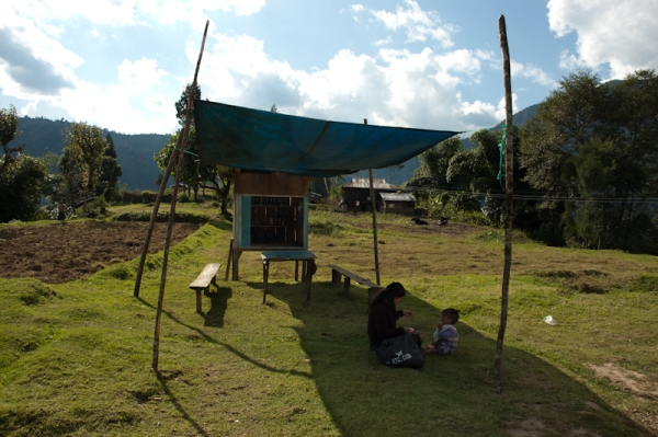 Pequeña tienda en Sikkim
