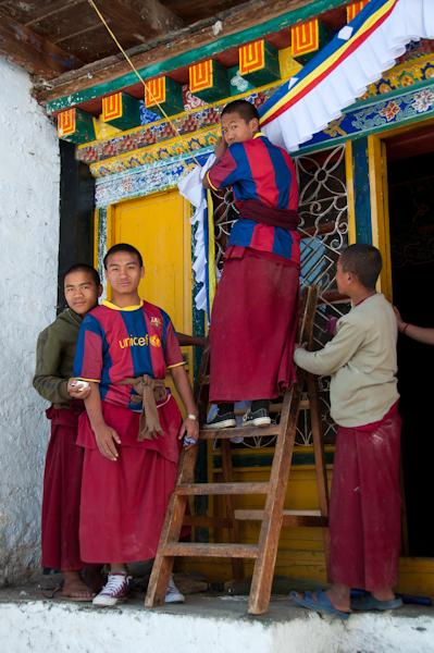 Monjos amb la samarreta del Barça
