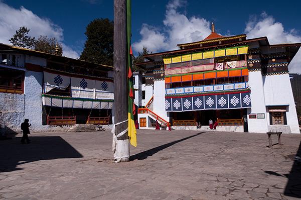Patí del monestir de Tawang