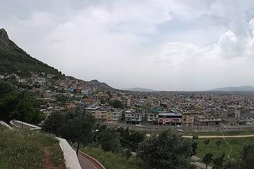 ciutat d'antioquia vista des de l'esglèsia de Sant Pere