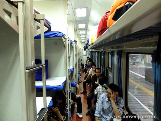 Vagó llitera dura tren Xina