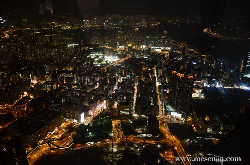 Hong Kong vist des del bar del Ritz-Carlton
